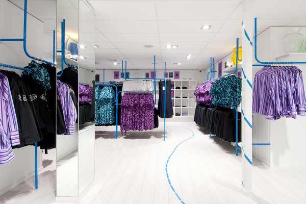 CLOTHES HANGAR store Air New Zealand