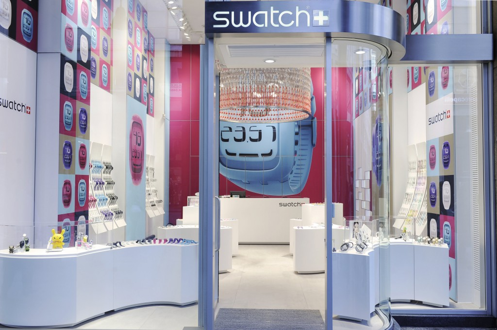 concept store SWATCH