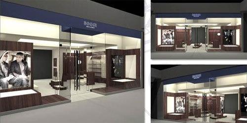 Boggi Milano boutique Mosca