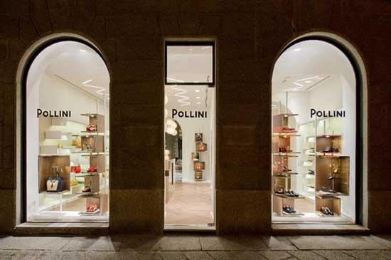 boutique Pollini via della spiga milano