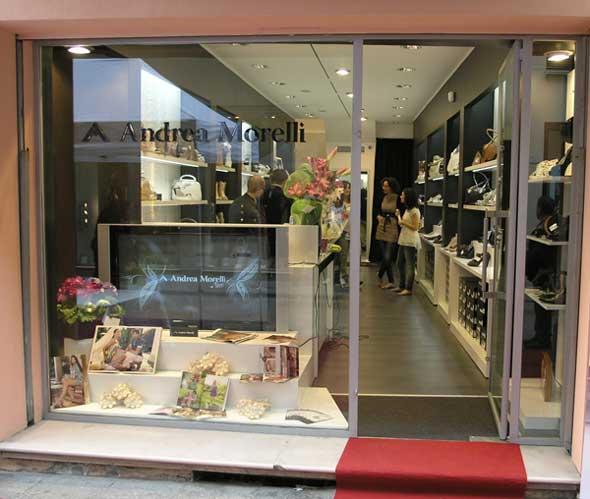 Andrea Morelli boutique monomarca Reggio Emilia