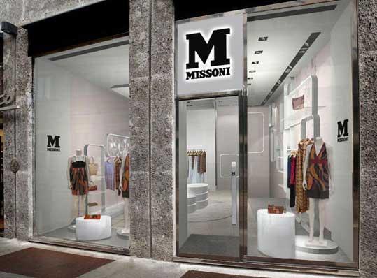 M Missoni concept store