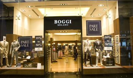 BOGGI MILANO boutique Dubai