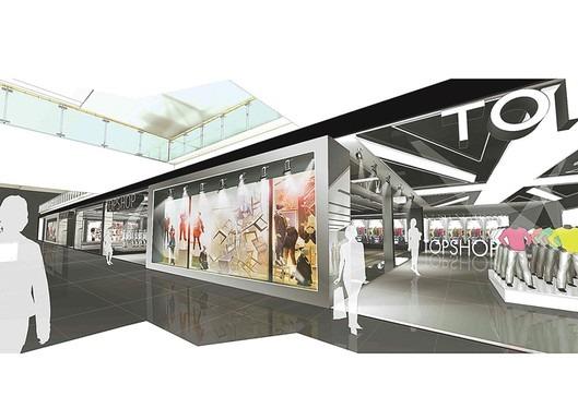 Topshop sviluppo retail