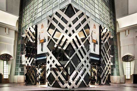 BURBERRY flagship store Taipei