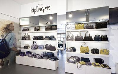 Kipling show room Milano
