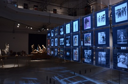 LA ROSA Mannequins Museo Balenciaga