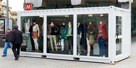 LOIZA milano temporary shop