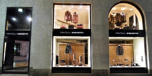 boutique fratelli rossetti milano