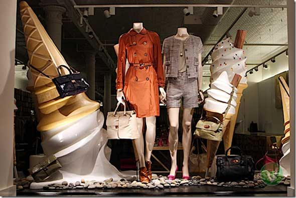 MULBERRY shop window