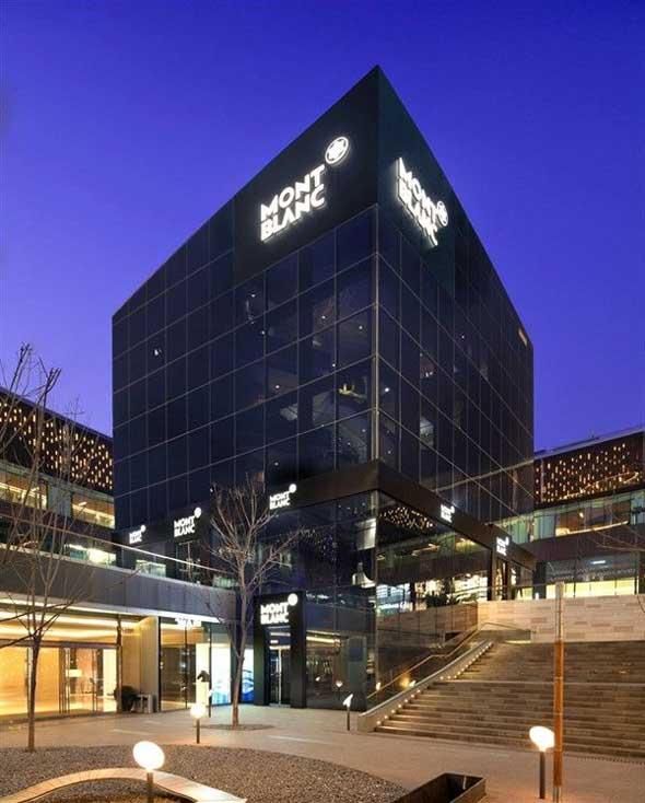 concept store Montblanc Pechino Cina
