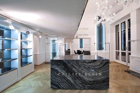 PHILIPP PLEIN rinnova lo showroom donna di Milano