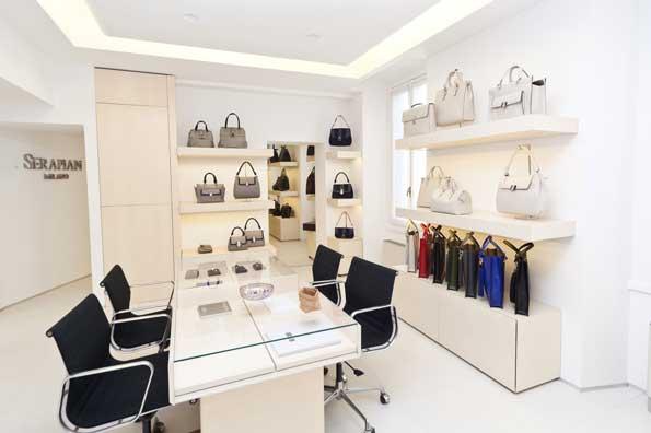 SERAPIAN showroom Milano