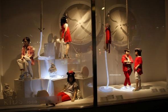 vetrine Zara Londra bond street