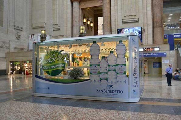 Casa SAN BENEDETTO temporary store Milano Centrale