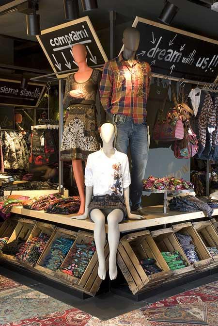 Desigual sviluppo retail