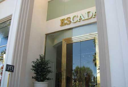 Escada boutique Palm Desert