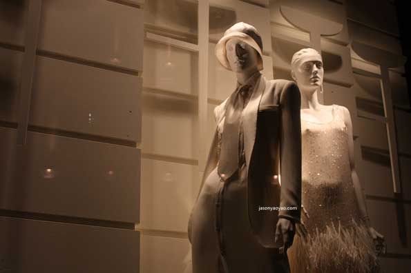 vetrine RALPH LAUREN shop window Londra