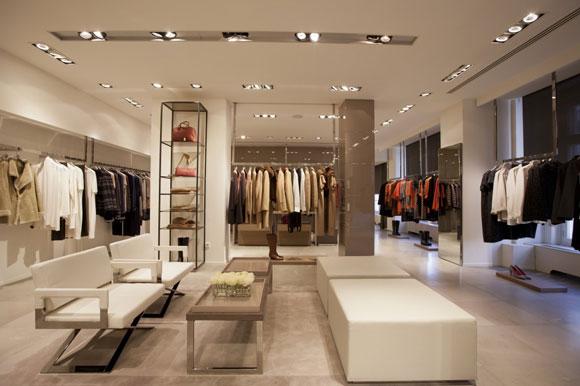 MARINA RINALDI restyling store Monaco