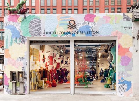 Pop-up store BENETTON New York