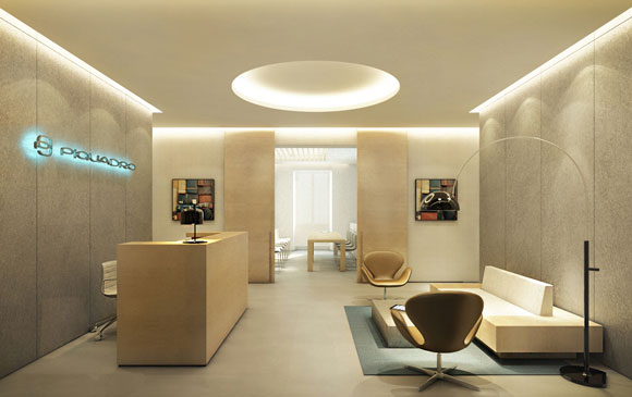 Piquadro sede e showroom Milano