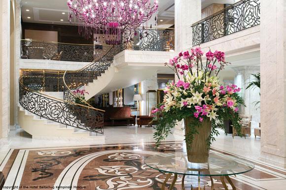 Masiero Kempinski hotel Mosca
