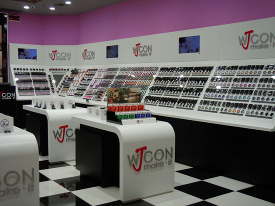 Wjcon concept store by Spinadesign