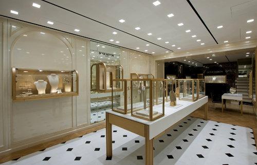 Boucheron store concept Hong Kong