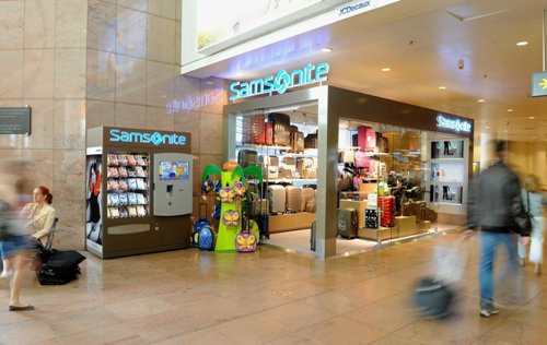 samsonite retail dinamico