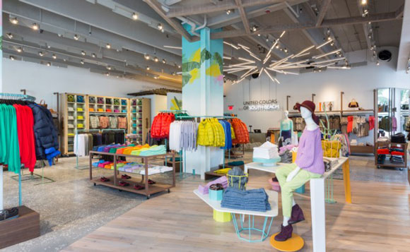 UNITED COLORS of BENETTON flagship store Miami