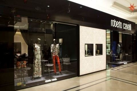 roberto cavalli flagship store Bucarestt