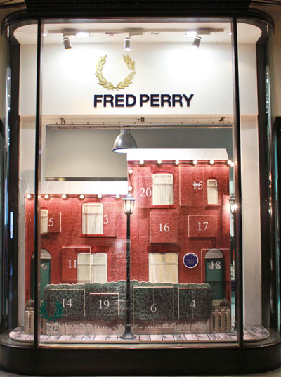 Fred Perry Windows by XAGStudio