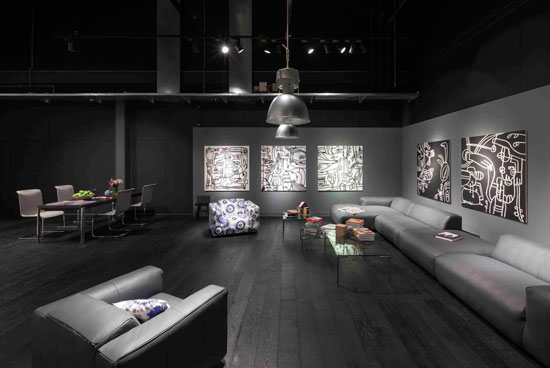 KVB Design create new retail showroom concept for Rolf Benz