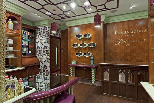 Christopher Jenner - Penhaligon's on Regent Street