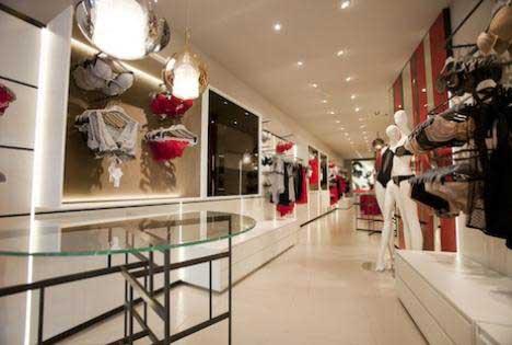 progetto retail Studio La Perla