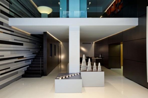 Laminam showroom Milano Nicola De Ponti