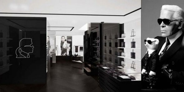 Karl Lagerfeld flagship store parigi