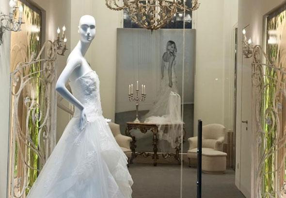Alberta Ferretti boutique atelier sposa Roma