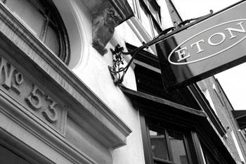 ETON flagship store Londra