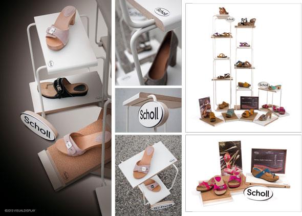 VISUAL DISPLAY crea il concept di visual merchandising SHOLL.