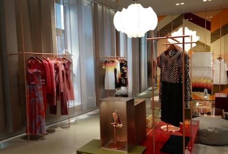 MISSONI boutique Milano Patricia Urquiola
