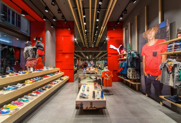 Puma flagship store roma