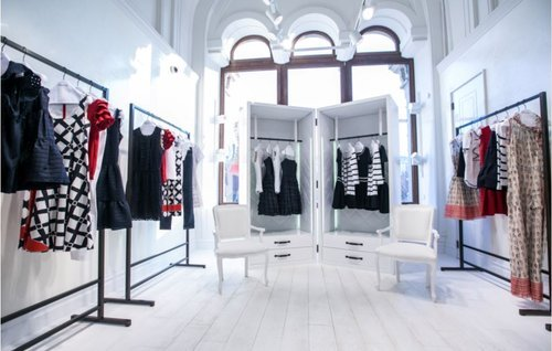RED Valentino flagship store Mosca