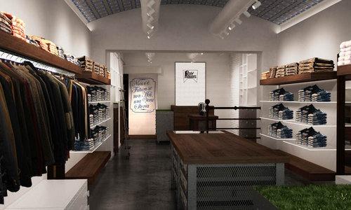 roy rogers forte dei marmi arredamento negozi