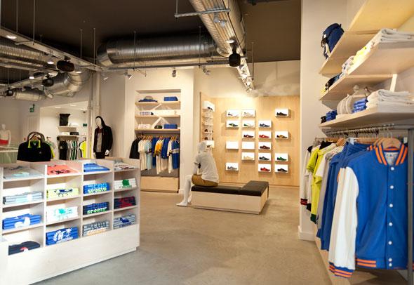 LE COQ SPORTIF flagship store Londra