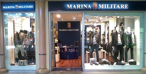 MARINA MILITARE sviluppo retail