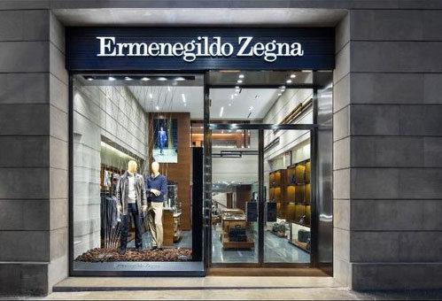 ERMENEGILDO ZEGNA boutique Barcellona