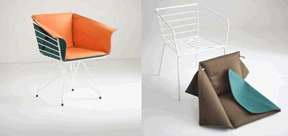 Seduta Duplo design Favaretto&Partners