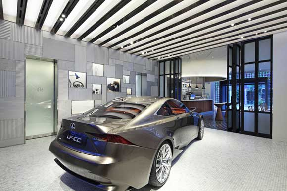 The First INTERSECT by Lexus Flagship Store In Tokyo, by Wonderwall