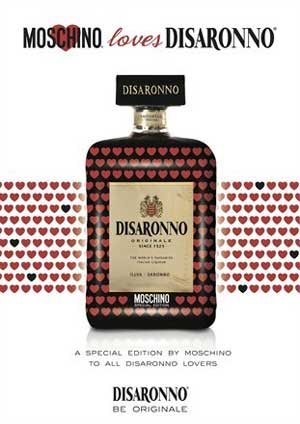 Moschino loves Disaronno temporary store